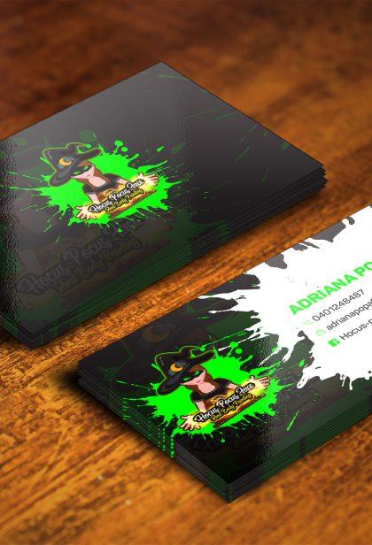 Hocusfocus Business Card
